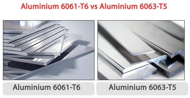 ALUMINIUM 6061-T6 VS ALUMINIUM 6063-T5