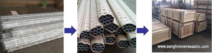 Aluminium Tubing Marking and Packaging