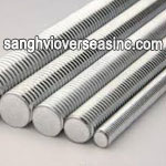7050 Aluminium Threaded Rod
