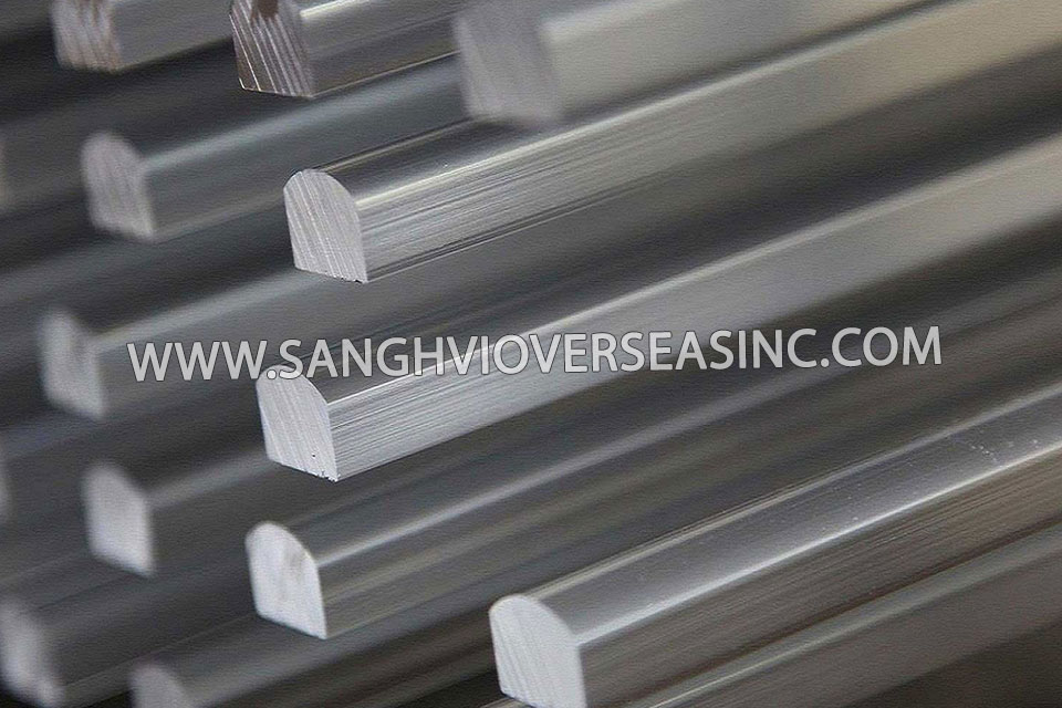 Aluminium Half Oval Bars Suppliers