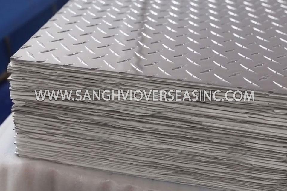 Aluminium 6063 Tread Plate suppliers