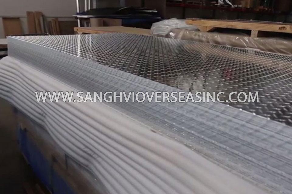 Aluminium 6351 Tread Plate suppliers