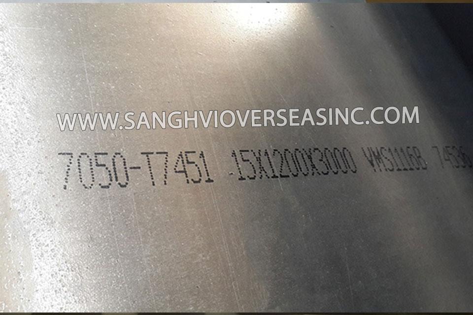 7050 Aluminium Plate Suppliers