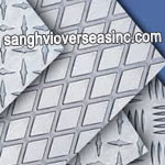 2014 T6 Aluminium Patterned Sheet