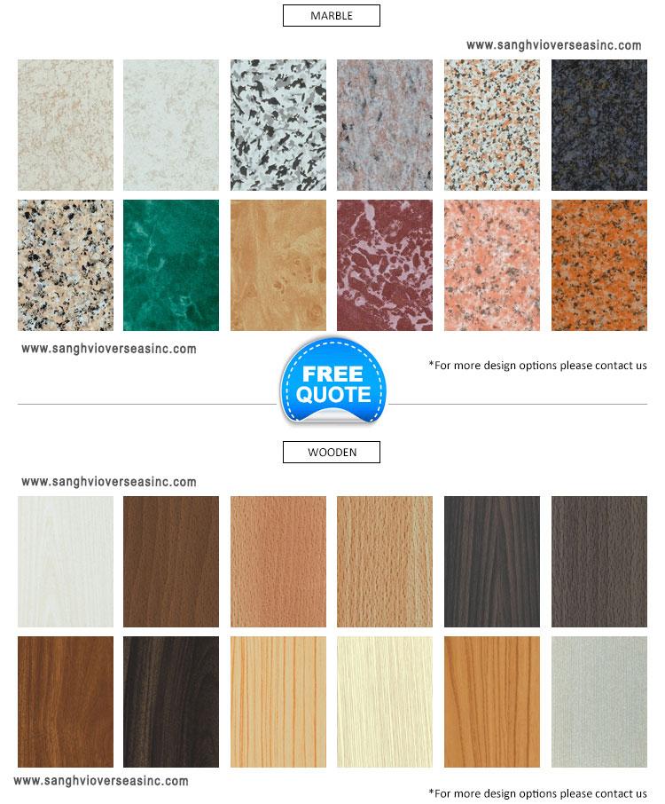 Aluminium Strip Color Range