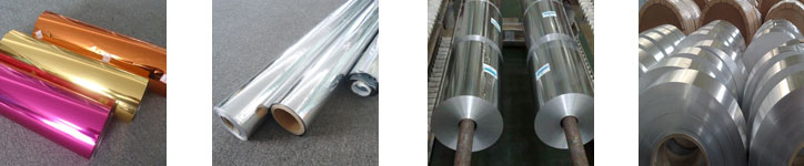 Types of Aluminium Foils