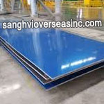 PVC Coated 52000 Aluminium Sheet