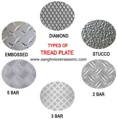 Types of Aluminium 6061 Tread Plate